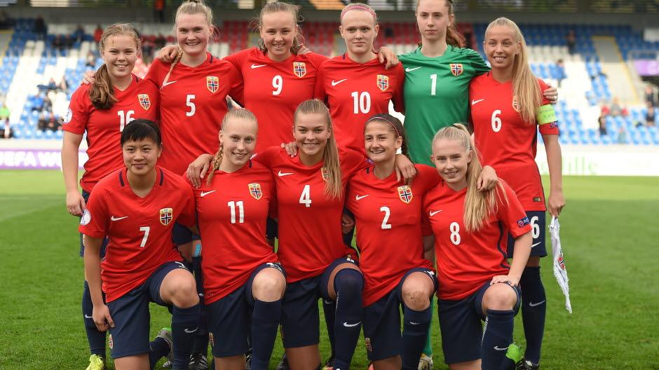 3bcd7927 J17-EM: Livereferat Norge - England - Norges Fotballforbund
