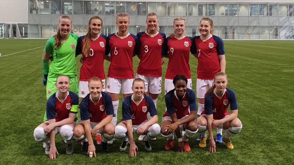 14753ecd Norge jenter 17 - Norges Fotballforbund