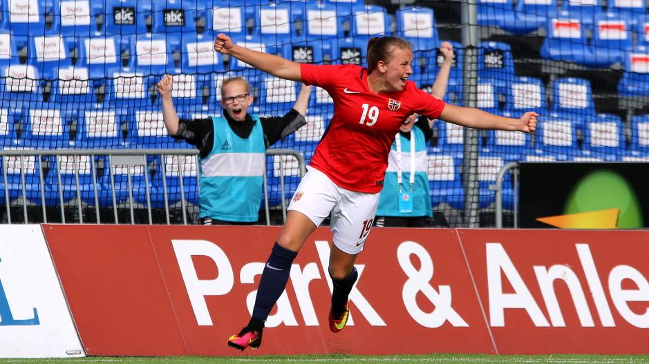 f92ad7ac 07072016 Norge Tyskland finale åpent nordisk mesterskap Sarpsborg stadion  J16-landslaget