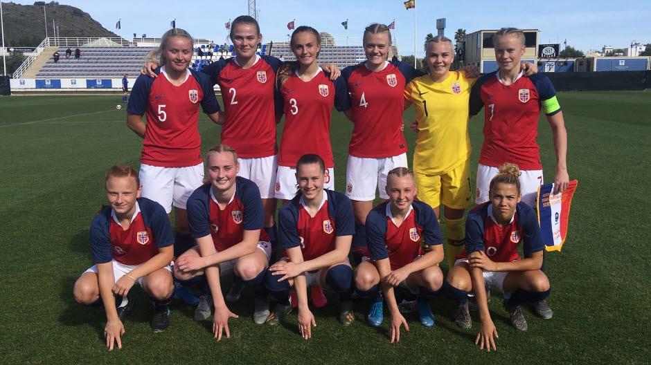 Norge Jenter 19 Norges Fotballforbund